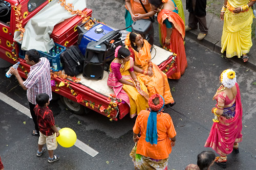 Karneval der Kulturen: Wagen